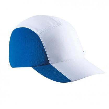 sportpet blauw wit